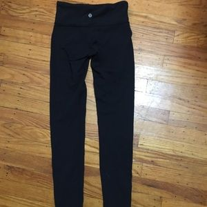 Lululemon high waisted black leggings